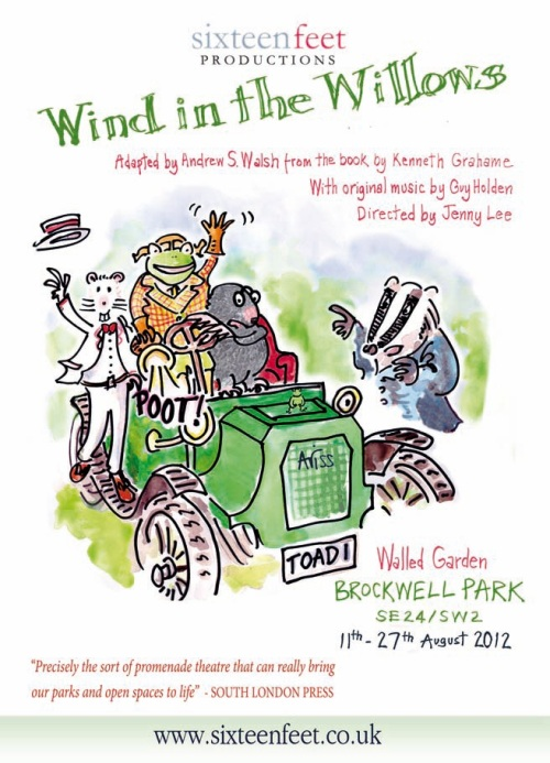 Wind in the Willows by Sixteen Feet Productions